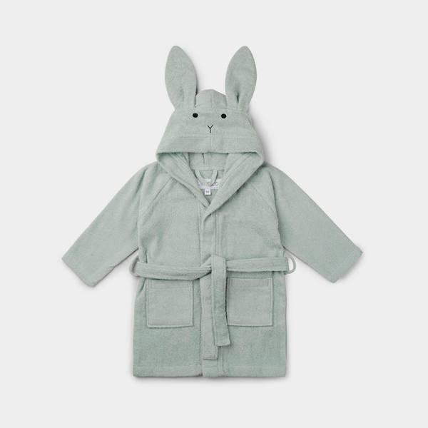 Bilde av Badekåpe Lily Rabbit Dusty Mint