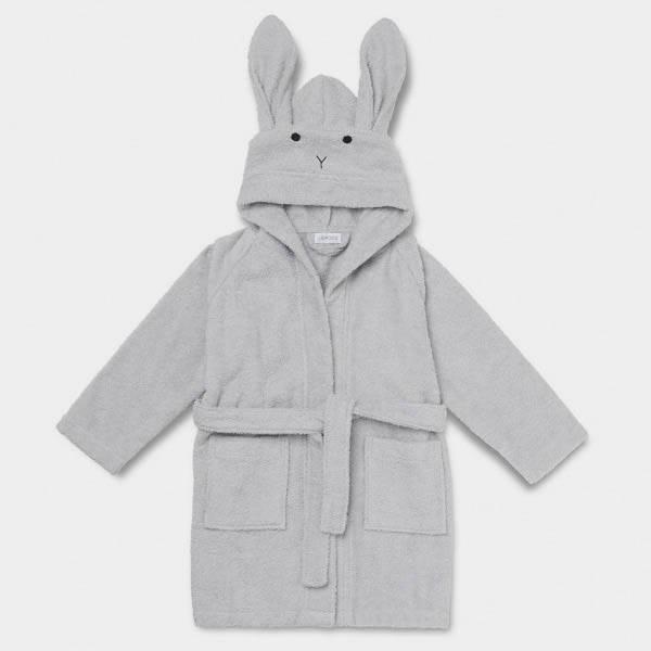 Bilde av Badekåpe Lily Rabbit Dumbo Grey