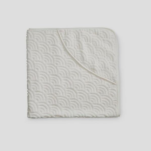 Bilde av Badehåndkle Junior Wave Off-White