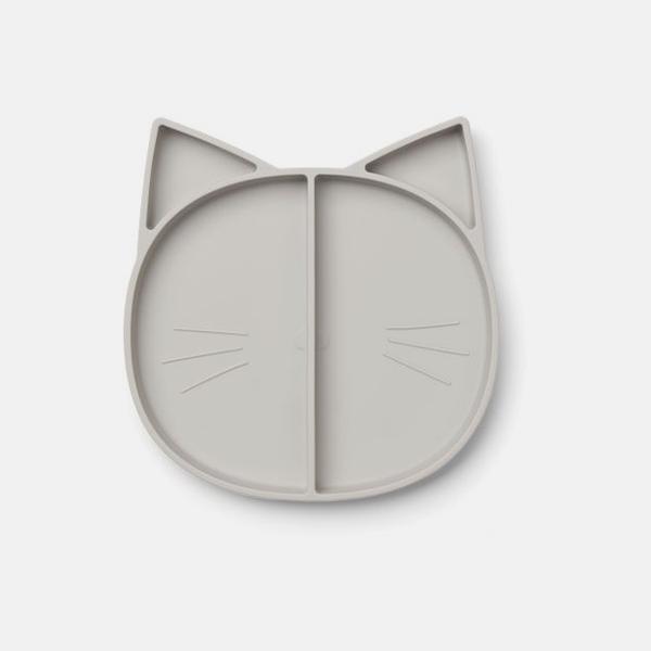 Bilde av Tallerken Maddox Cat Dumbo Grey