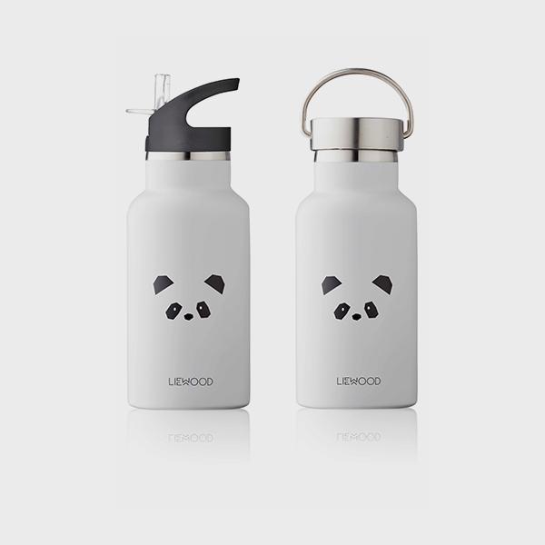 Bilde av Drikkeflaske Anker Panda Light Grey