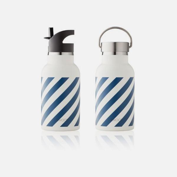 Bilde av Drikkeflaske Anker Stripe Navy Creme