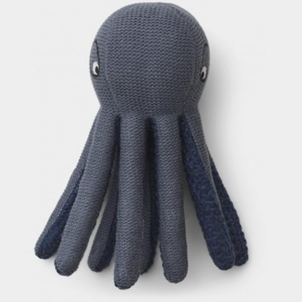 Bilde av Octopus minibamse Ole Blue Wave
