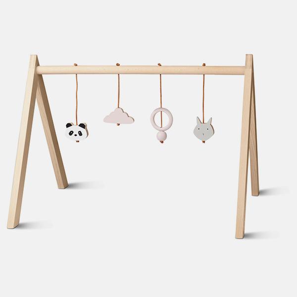 Bilde av Babygym Wood Girl m/leker