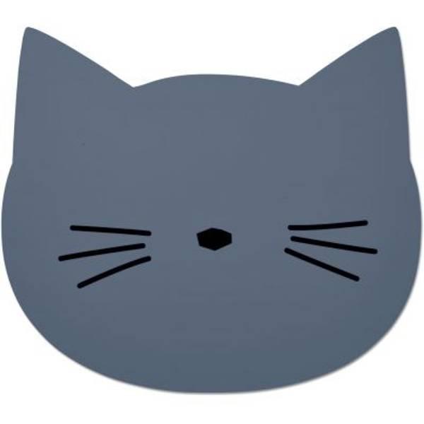 Bilde av Spisebrikke Aura Cat Blue Wave