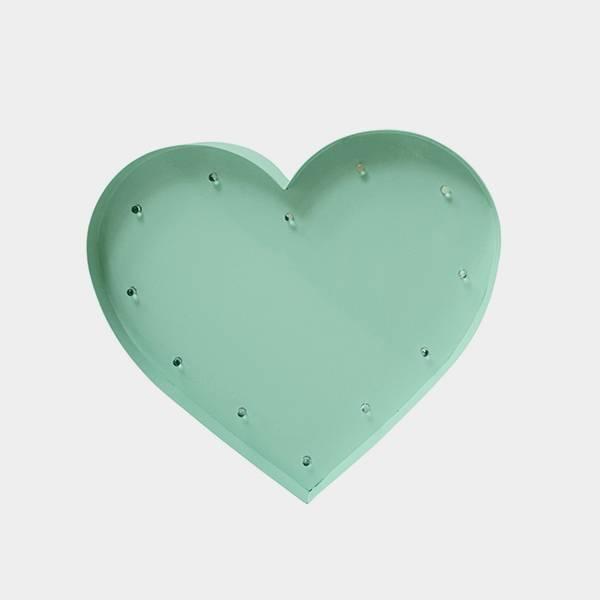 Bilde av Heart Mint 20cm