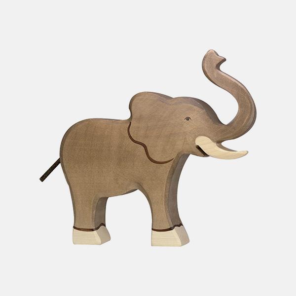 Bilde av Holztiger Elefant Stor høy snabel
