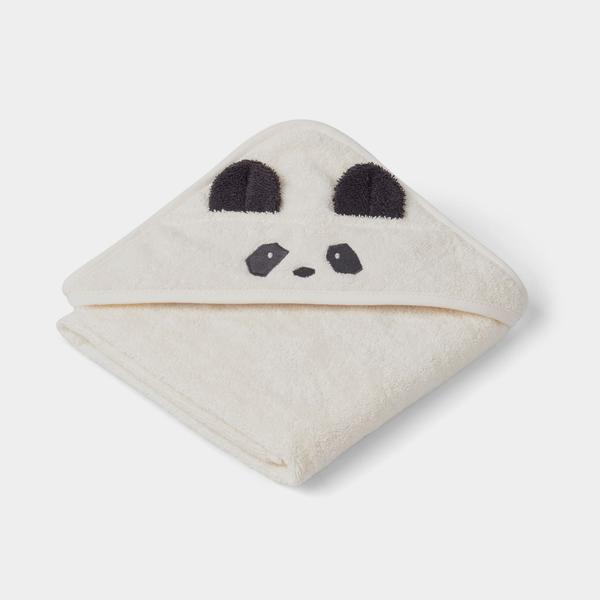 Bilde av Badehåndkle Baby Albert Panda creme de la creme