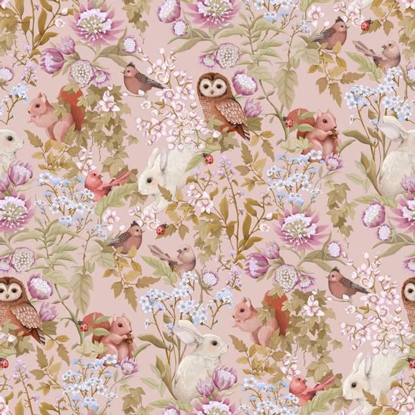 Bilde av Woodlands Wallpaper Blush