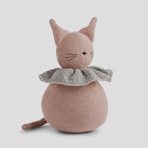 Bilde av Valdemar Cat Rose strikket bamse