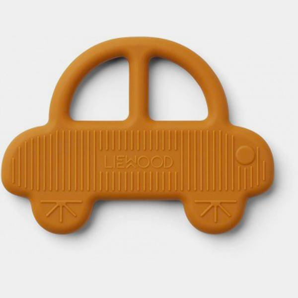 Bilde av Biteleke Gemma Teether Car Mustard