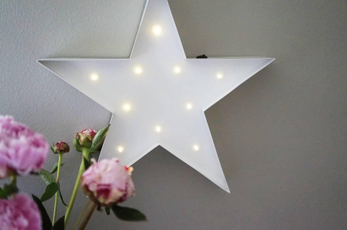 Star Hvit 30cm