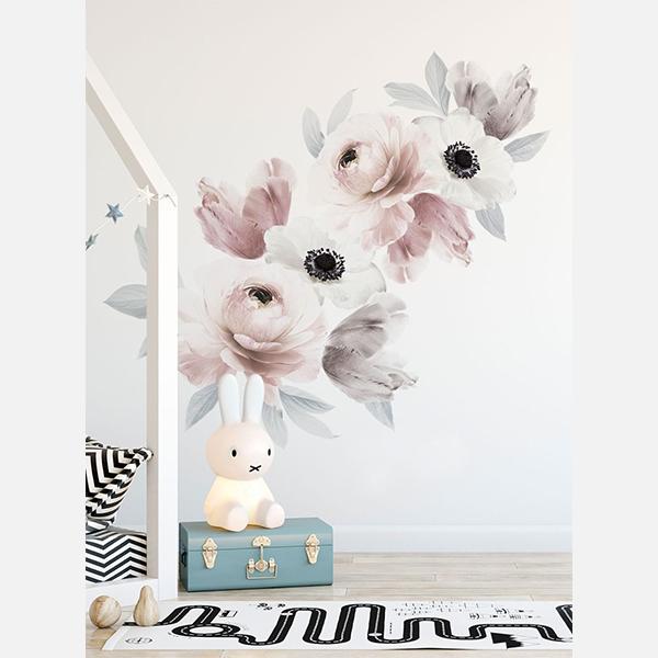 Bilde av Wall Stickers Floral Romantic