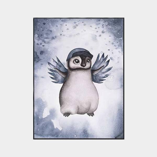 Bilde av Poster Pingvinen Penny 30x40cm