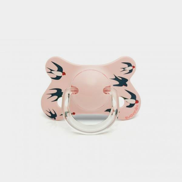 Bilde av Smokk / Fysio latex 4-18 mnd Pink Swallow