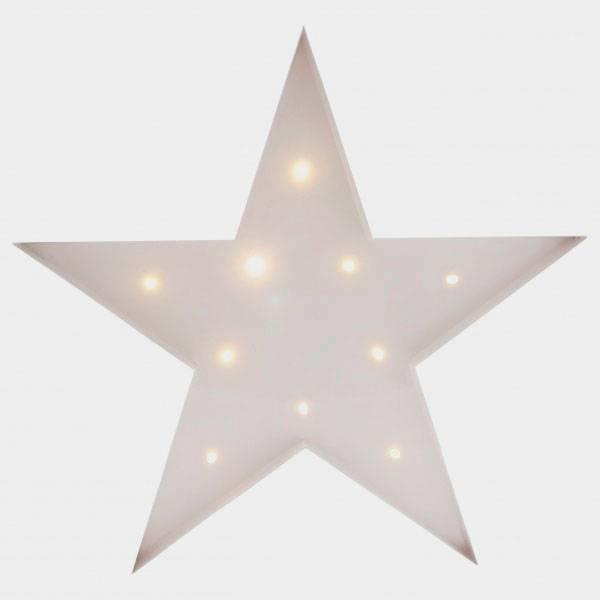 Bilde av Star Hvit 30cm