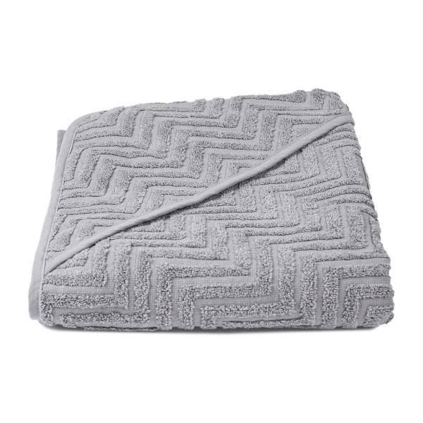 Bilde av Badehåndkle Zigzag Grey