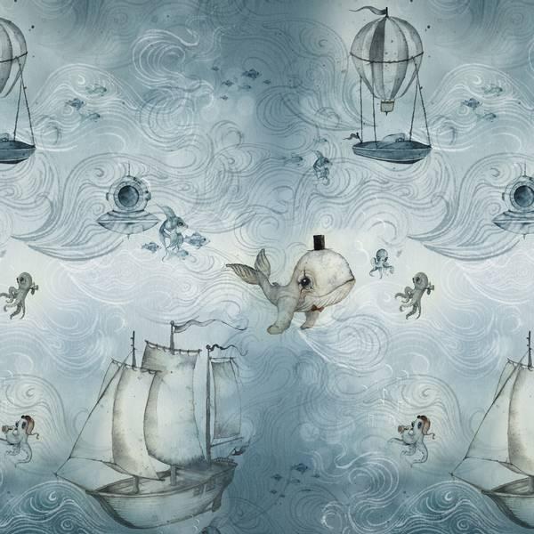Bilde av Tapet The Ocean Stories