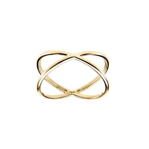 Bilde av Ring 585 gult gull