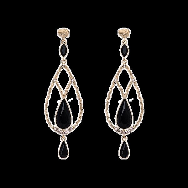 Bilde av Garbo earrings – Jet