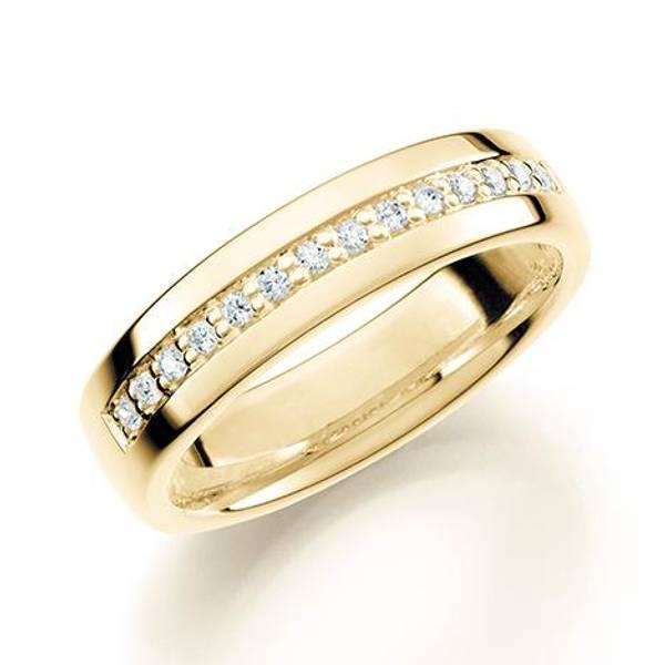 Bilde av GD Forever Diamant 5mm Gult
