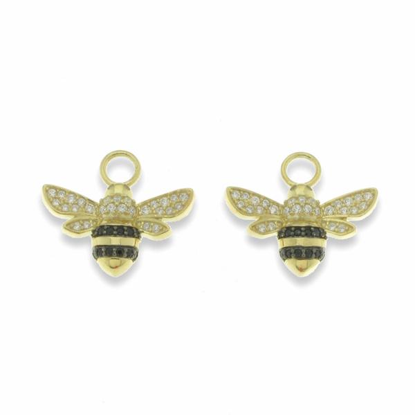 Bilde av Bee forgylt Charm