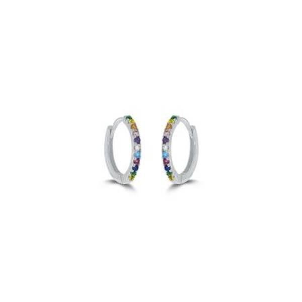 Bilde av GD Classic øreringer i sølv