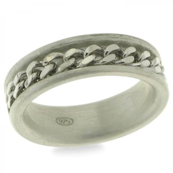 Bilde av Bond ring i sølv - Sølv