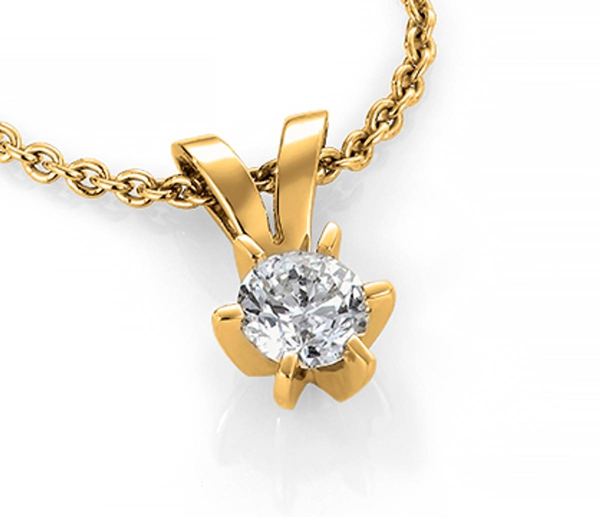 Diamant  0,50CT anheng Solitaire