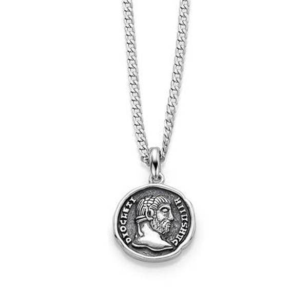 Bilde av GD Mann Mynt anheng i sølv