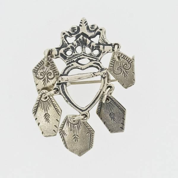 Bilde av VO Sølje nr. 2 oksidert sølv