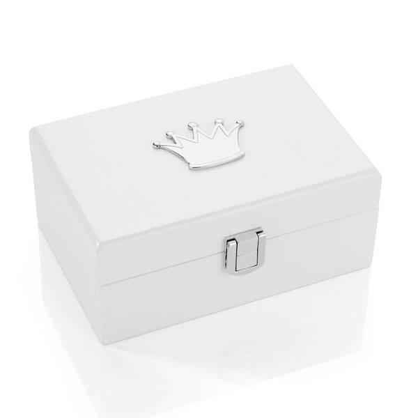 Bilde av Hvitt smykkeskrin med hjerte