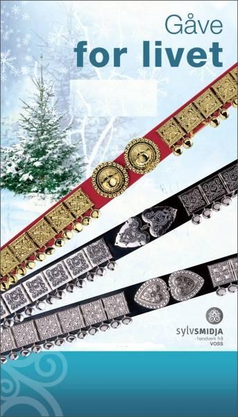 Bilde av Bunadsbelte sølv med