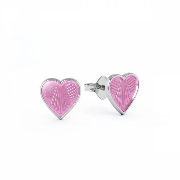 Bilde av Ørestikk i sølv - Rosa