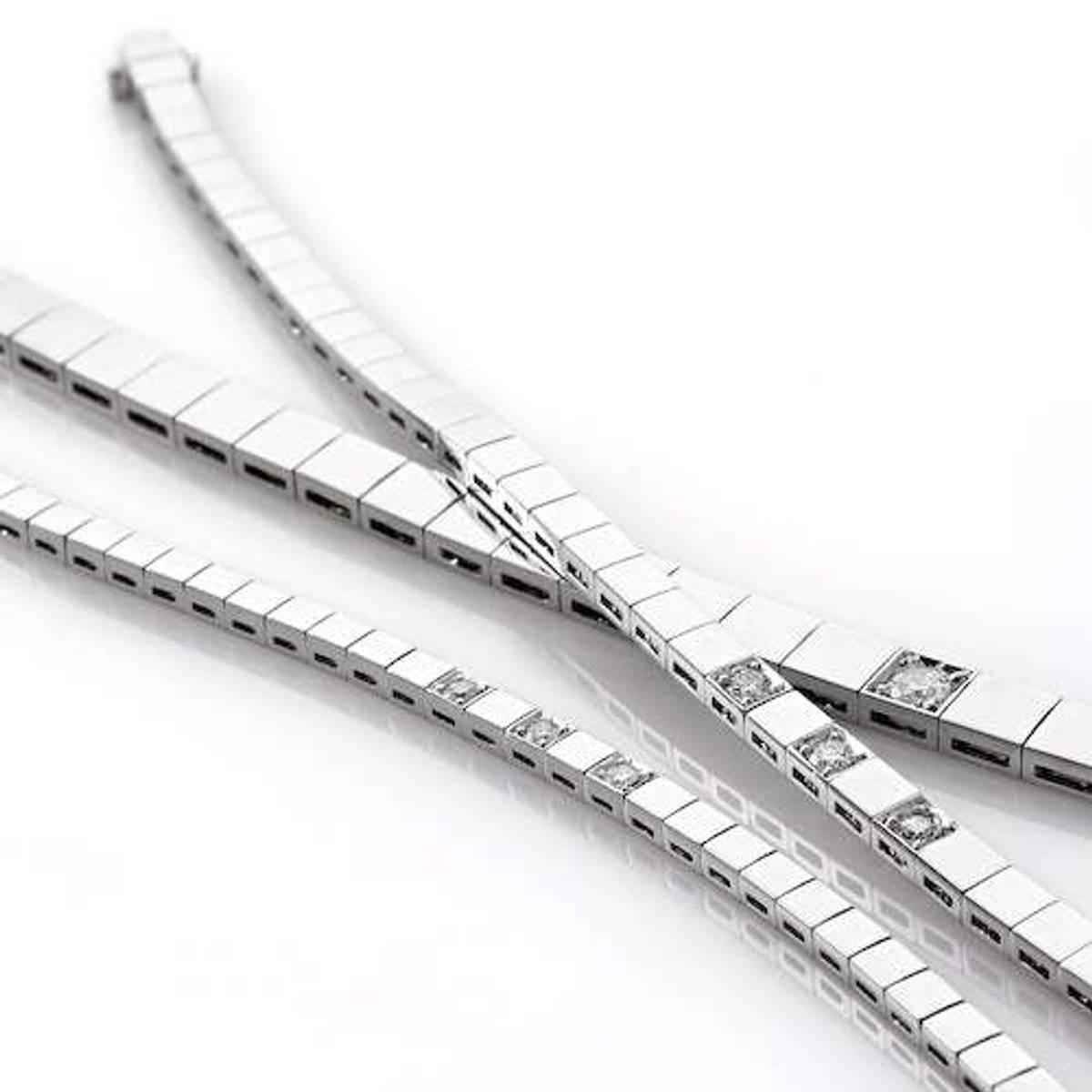 Allianse armbånd 4.5mm 0.10ct wsix3