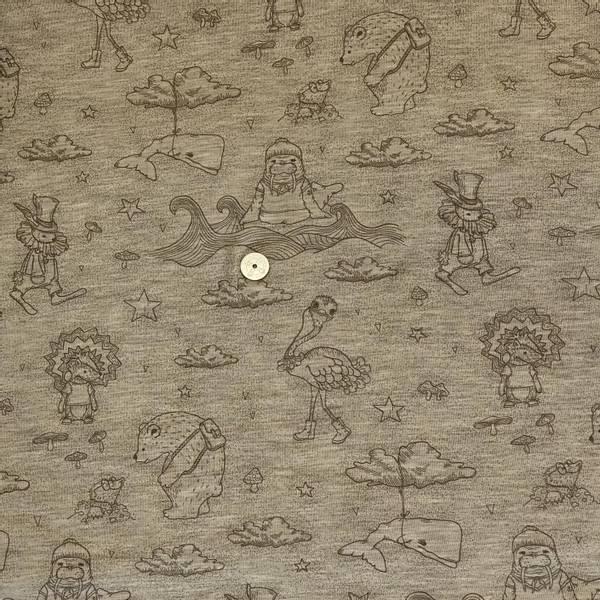 Bilde av Nøttebrun med dyr - Ull