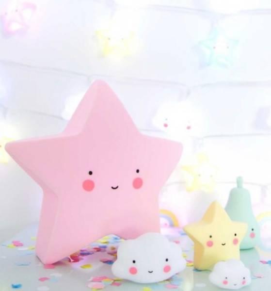 Bilde av ALLC - Little Light, Star - Pink