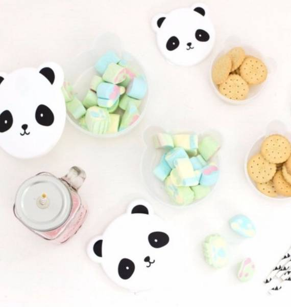 Bilde av ALLC - Snack boxes 4 pk, Panda