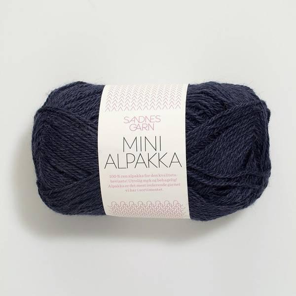 Bilde av Mini Alpakka - 6081 Dyp blå