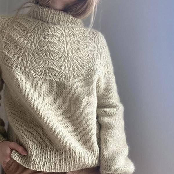 Bilde av Le Knit, Peacock Sweater - Lene H. Samsøe