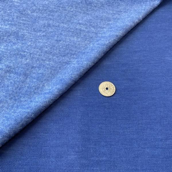Bilde av Tynn Ull-fleece - Jeansblå