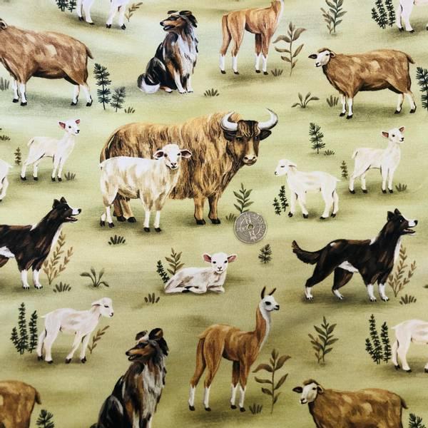 Bilde av Gårdsliv - Ku, Sau, Hund, Alpakka