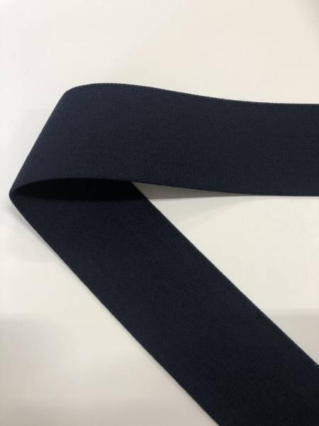 Bilde av Marineblå - 4 cm bred strikk