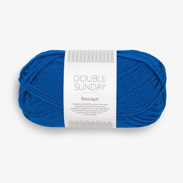 Bilde av Double Sunday  Petiteknit - 6046 Electric Blue