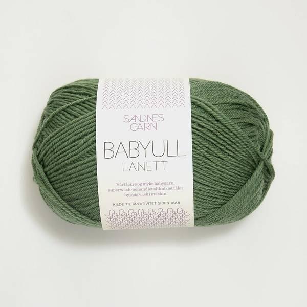 Bilde av Babyull Lanett - 8543 Grønn