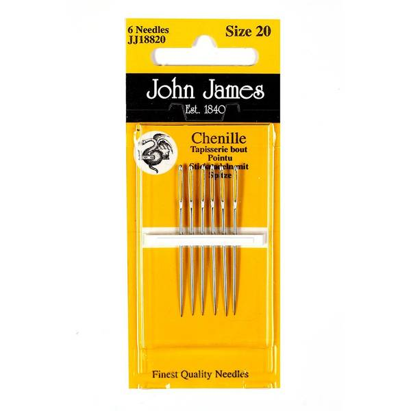 Bilde av John James - Sy nål Chenille Size 24