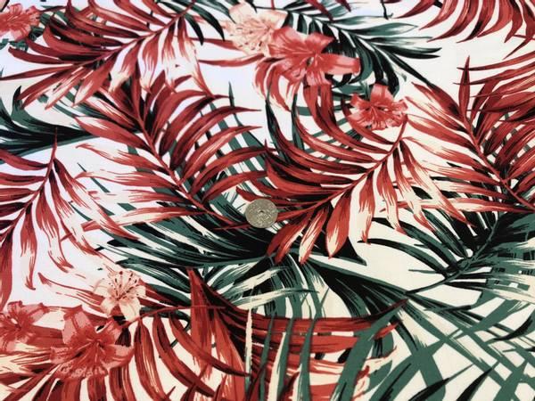 Bilde av Palmesus Rød - Bengalin, Viskose/nylon