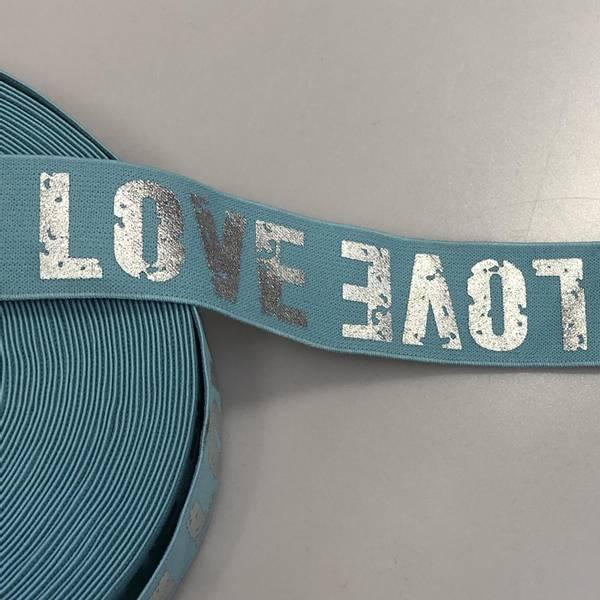 Bilde av Love, Mint - 4 cm bred