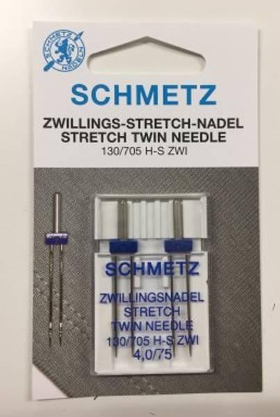 Bilde av Schmetz tvillingnål 130/705 - 4,0/75 - 2Pk