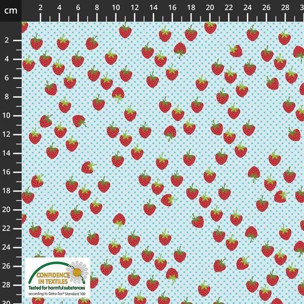 Bilde av Jordbær med prikker - Avalana